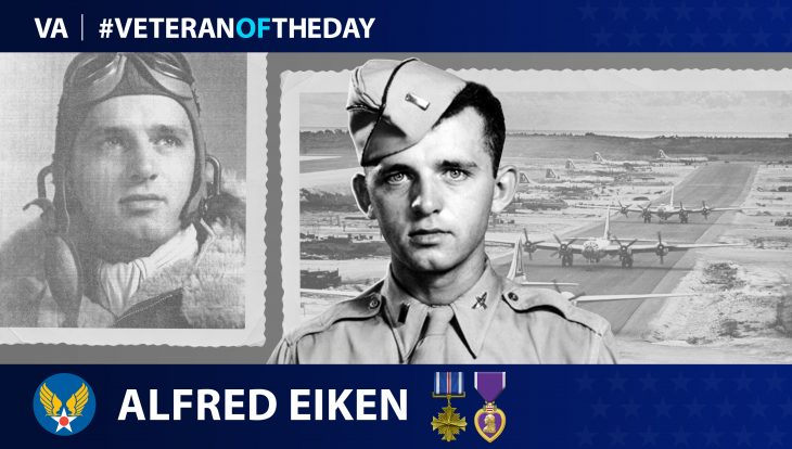 Army Air Forces Veteran Alfred Eiken is today's Veteran of the Day.