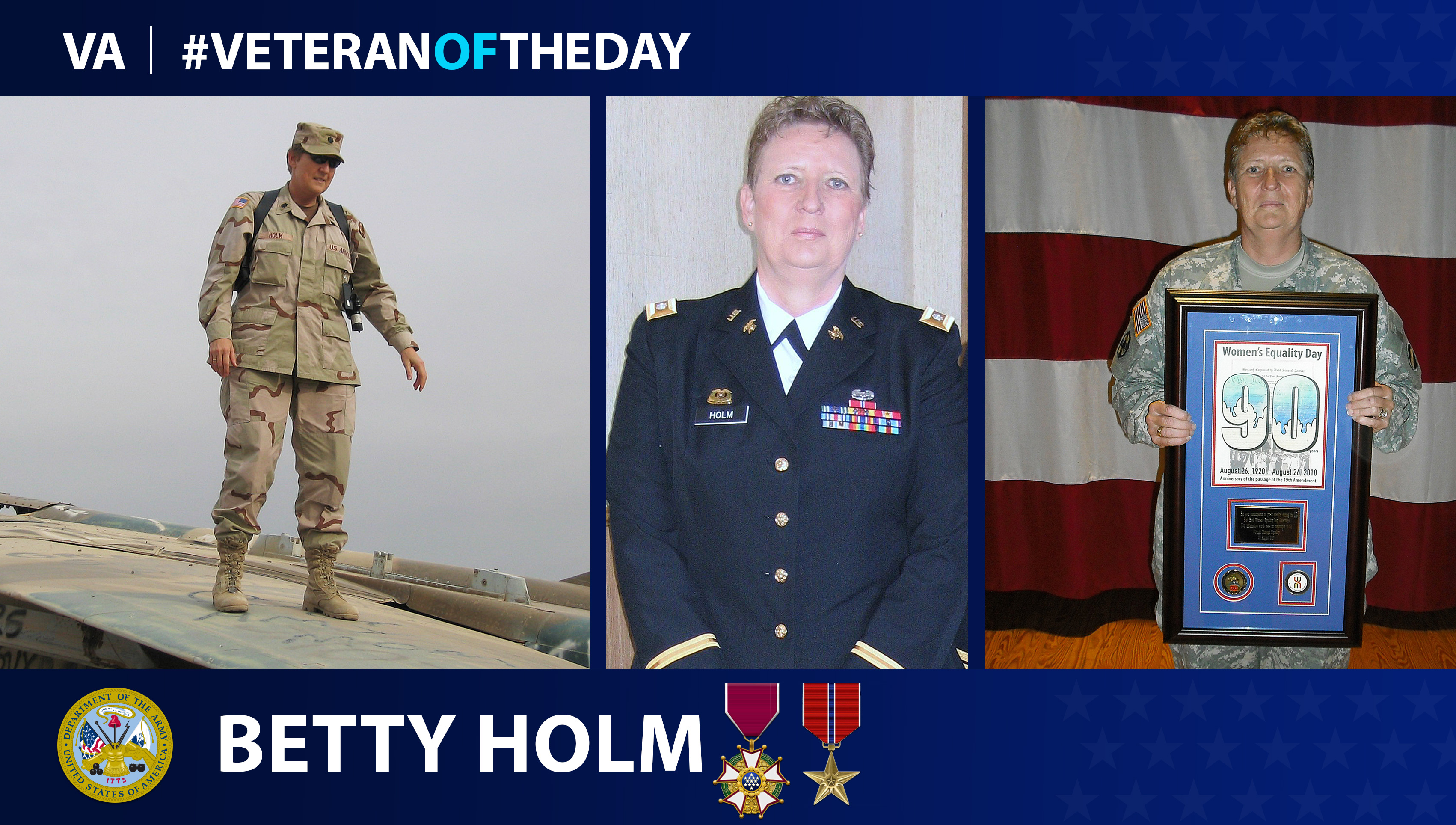Veteran of the Day...Betty Holm