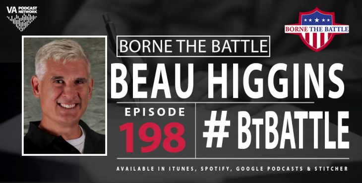 Marine Corps Veteran Beau Higgins is this week's Borne The Battle guest.