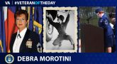Air Force Veteran Debra M. Morotini is today's Veteran of the Day.