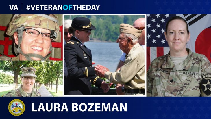 Army Veteran Laura Bozeman is today's Veteran of the Day.