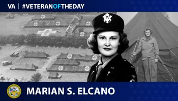 Army Veteran Marian Rebecca Sebring Elcano is today's Veteran of the Day.