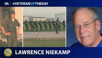 Army Veteran Lawrence Niekamp is today's Veteran of the Day.