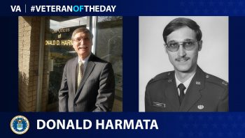 Air Force Veteran Donald Harmata is today's Veteran of the Day.