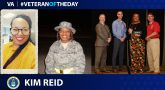 Air Force Veteran Kim Reid is today's Veteran of the Day.