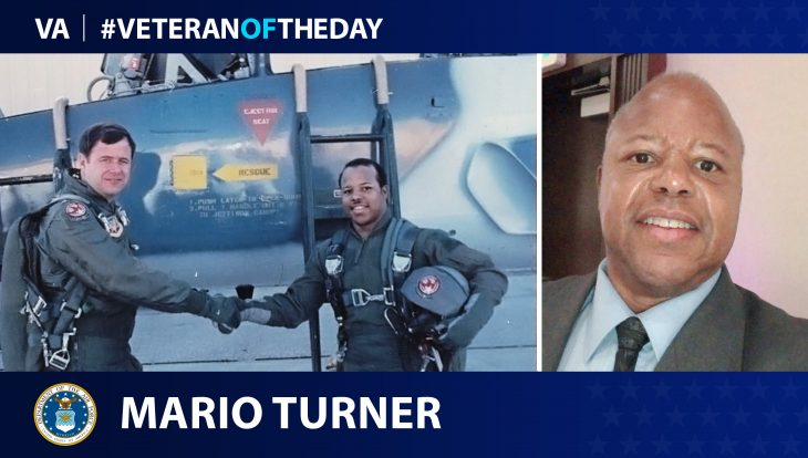 Air Force Veteran Mario A. Turner is today's Veteran of the Day.