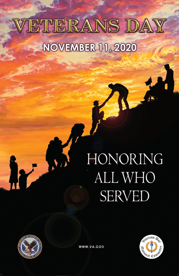 Veterans Day Poster Contest winning submission.