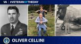 Air Force Veteran Oliver Cellini is today's Veteran of the Day.