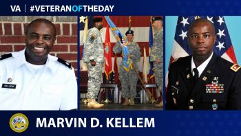 Army Veteran Marvin D. Kellem IV is today's Veteran of the Day.