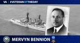 Navy Veteran Mervyn Bennion is today's Veteran of the Day.
