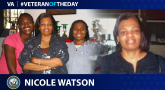 Navy Veteran Nicole Watson is today's Veteran of the Day.