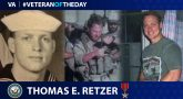 Navy Veteran Thomas Retzer is today's Veteran of the Day.