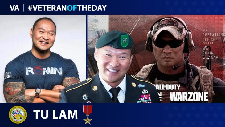 Army Veteran Tu Lam is today's Veteran of the Day.