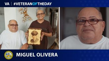 Army Veteran Miguel Olivera is today's Veteran of the Day.