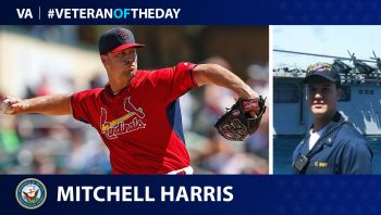 Navy Veteran Mitchell Harris is today's Veteran of the Day.