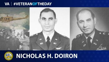 Army Veteran Nicholas H. Doiron is today's Veteran of the Day.