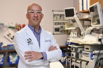 Dr. Ken Kunisaki is a pulmonologist and researcher at the Minneapolis VA Health Care System.