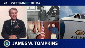 Air Force Veteran James W. Tompkins is today's Veteran of the Day.