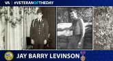 Army Veteran Jay Barry Levinson is today's Veteran of the Day.