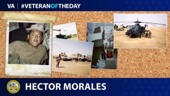 Army Veteran Hector O. Morales Jr. is today's Veteran of the Day.