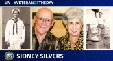 Navy Veteran Sidney Silvers is today's Veteran of the Day.