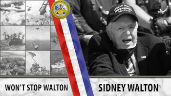 WWII Veteran Sidney Walton wants Americans to meet him.