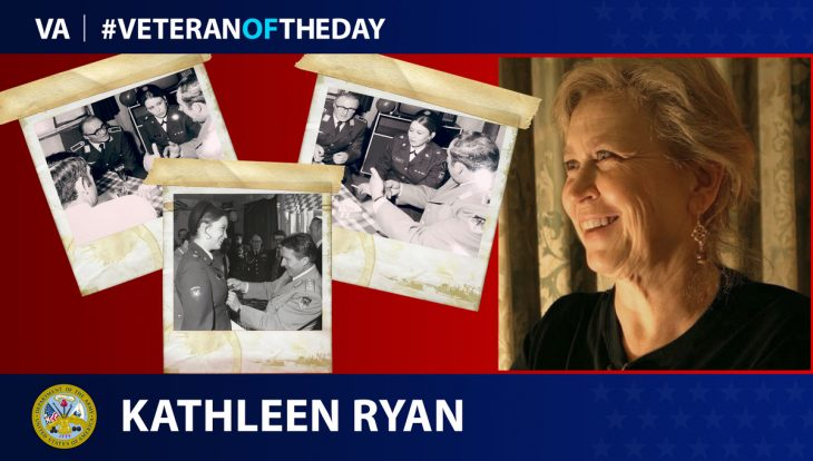 Army Veteran Kathleen A. Ryan is today's Veteran of the Day.