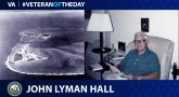 Navy Veteran John Lyman Hall is today's Veteran of the Day.