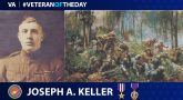 Marine Corps Veteran Joseph Keller is today's Veteran of the Day.