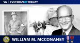 Army Veteran William McConahey is today's Veteran of the Day.