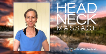 #LiveWholeHealth head and neck massage