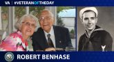 Navy Veteran Robert Benhase is today's Veteran of the Day.