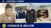 Army Veteran Charles Bud Bellew is today's Veteran of the Day.