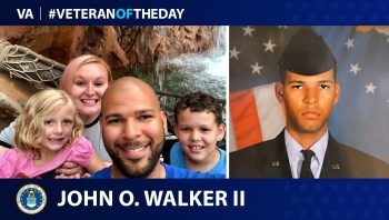 Air Force Veteran John Walker is today's Veteran of the Day.