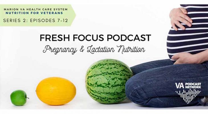 Pregnancy and Lactation Nutrition podcast banner