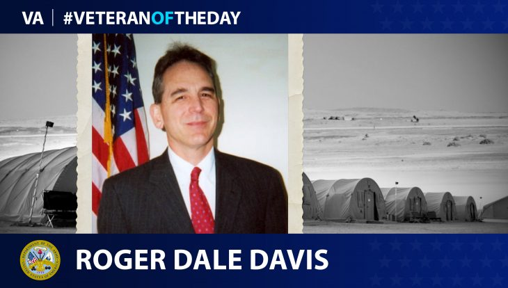 Army Veteran Roger Dale Davis is today's Veteran of the Day.