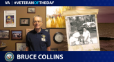 Navy Veteran Bruce Collins is today's Veteran of the Day.