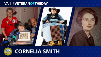 Army Veteran Cornelia Smith is today's Veteran of the Day.
