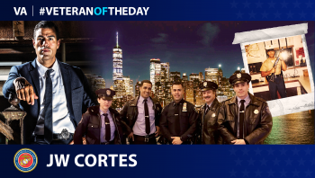Marine Corps Veteran J.W. Cortés is today's Veteran of the Day.