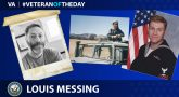 Navy Veteran Louis Messing is today's Veteran of the Day.