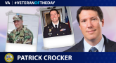 Army Veteran Patrick Crocker is today's Veteran of the Day.