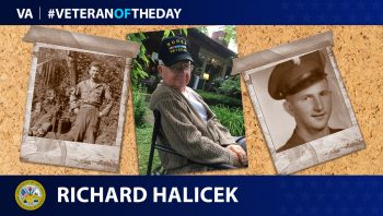 Army Veteran Richard Halicek is today's Veteran of the Day.