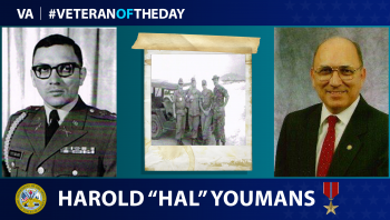 Army Veteran Harold Youmans is today's Veteran of the Day.