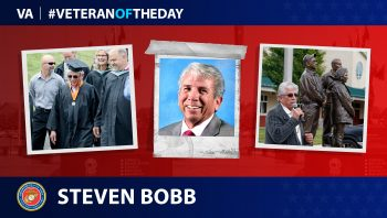 Marine Veteran Steven L. Bobb is today's Veteran of the Day.