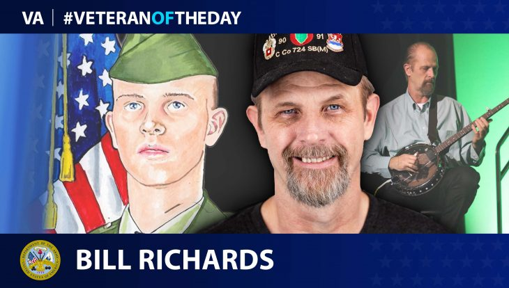 Army Veteran Bill Richards is today's Veteran of the Day.