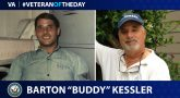 "Navy Veteran Barton ""Buddy"" Kessler is today's Veteran of the Day."