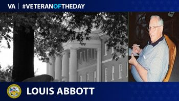 Army Veteran Louis Abbott is today's Veteran of the Day.