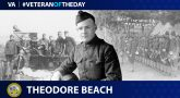 Army Veteran Theodore Edward Beach is today's Veteran of the Day.