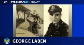 Army Air Forces Veteran George John Laben is today's Veteran of the Day.