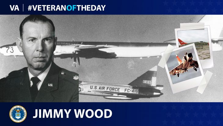 Air Force Veteran Jimmy Wood is today's Veteran of the Day.